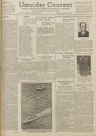 IJmuider Courant 1939-10-24