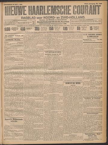 Nieuwe Haarlemsche Courant 1912-09-19