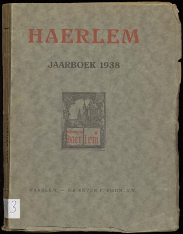Jaarverslagen en Jaarboeken Vereniging Haerlem 1938