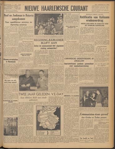 Nieuwe Haarlemsche Courant 1947-05-07