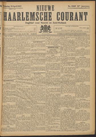 Nieuwe Haarlemsche Courant 1907-04-24
