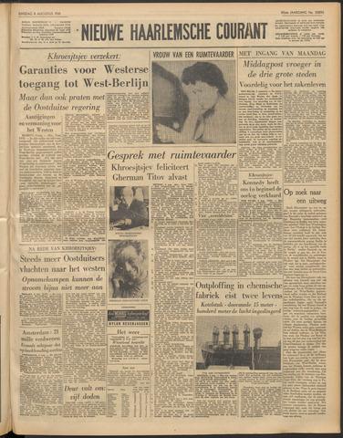 Nieuwe Haarlemsche Courant 1961-08-08