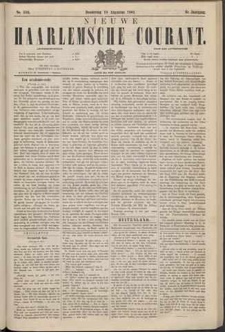 Nieuwe Haarlemsche Courant 1881-08-18