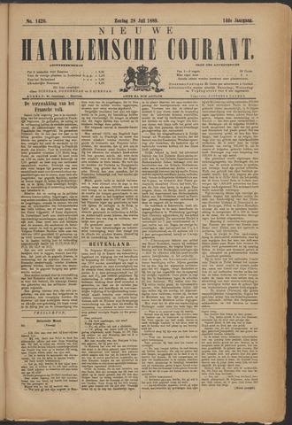 Nieuwe Haarlemsche Courant 1889-07-28
