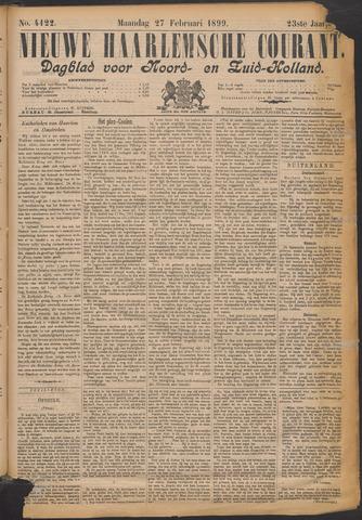 Nieuwe Haarlemsche Courant 1899-02-27