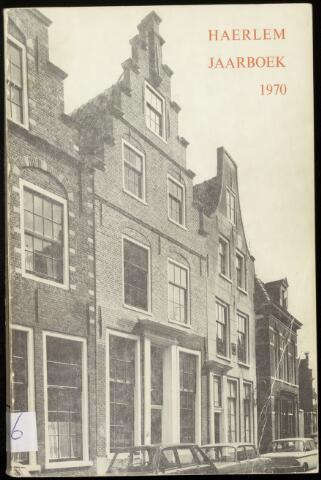Jaarverslagen en Jaarboeken Vereniging Haerlem 1970