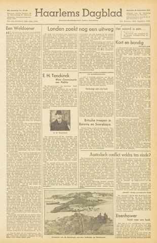 Haarlem's Dagblad 1945-09-29