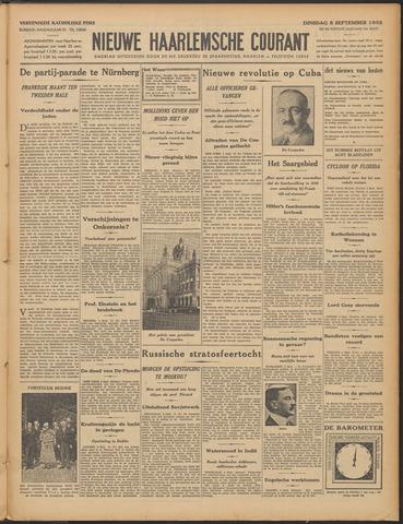 Nieuwe Haarlemsche Courant 1933-09-05