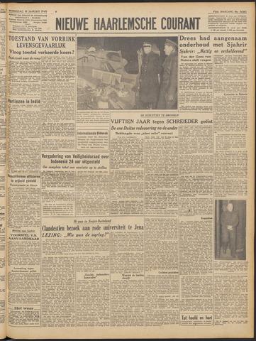 Nieuwe Haarlemsche Courant 1949-01-19