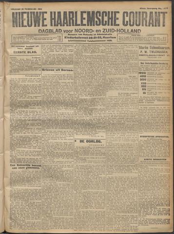 Nieuwe Haarlemsche Courant 1915-02-19