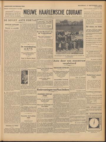 Nieuwe Haarlemsche Courant 1934-09-17