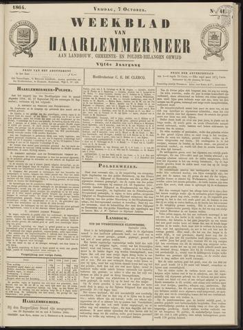Weekblad van Haarlemmermeer 1864-10-07