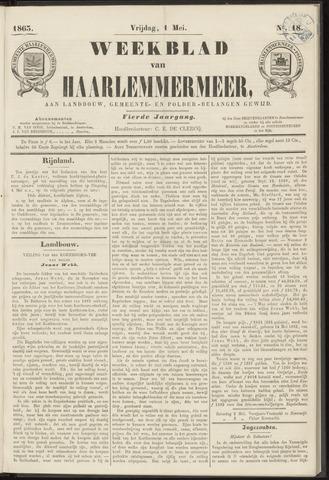 Weekblad van Haarlemmermeer 1863-05-01