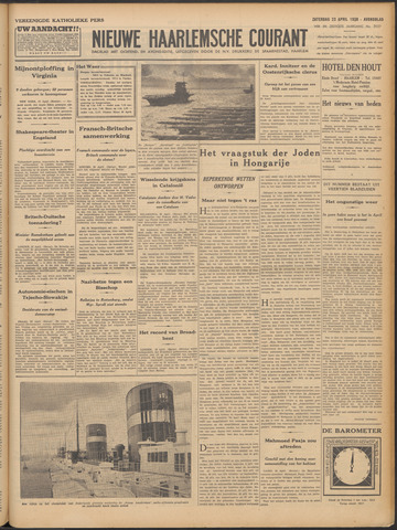 Nieuwe Haarlemsche Courant 1938-04-23