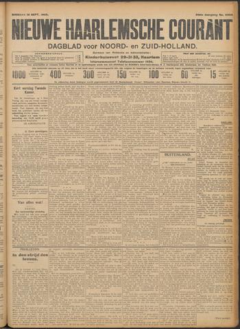 Nieuwe Haarlemsche Courant 1909-09-14