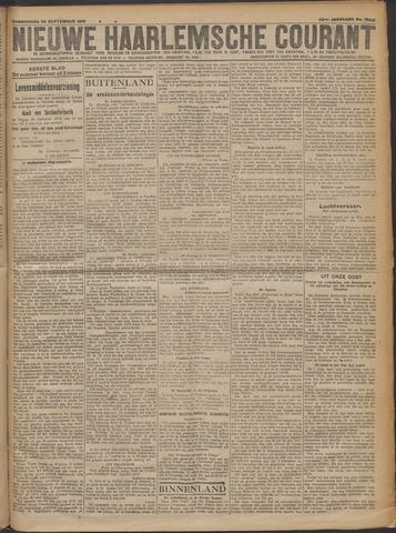Nieuwe Haarlemsche Courant 1919-09-25