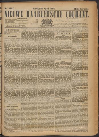 Nieuwe Haarlemsche Courant 1896-04-26