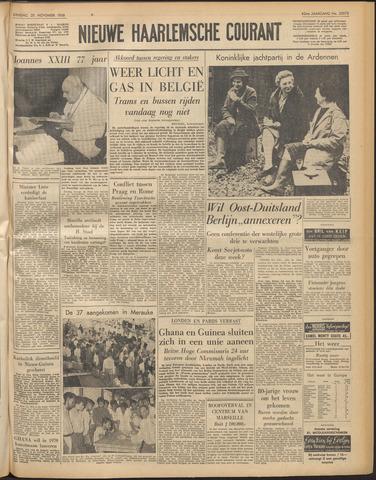 Nieuwe Haarlemsche Courant 1958-11-25