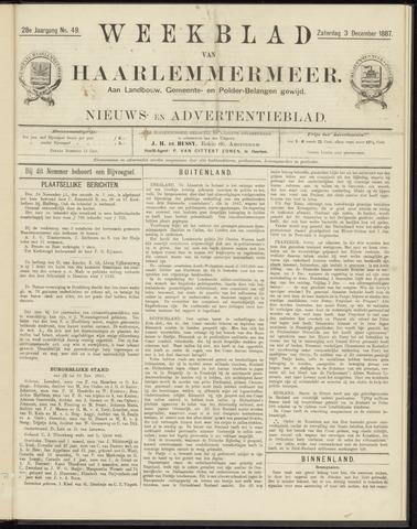 Weekblad van Haarlemmermeer 1887-12-03