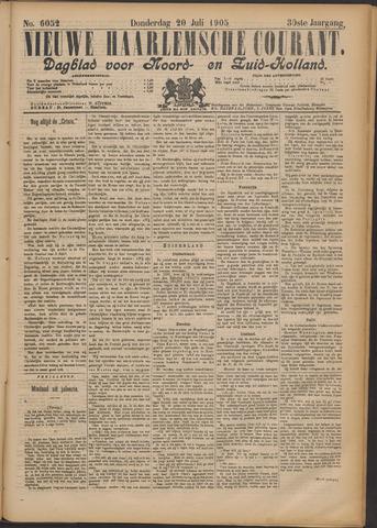 Nieuwe Haarlemsche Courant 1905-07-20