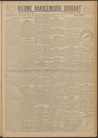 Nieuwe Haarlemsche Courant 1924-03-13