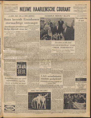 Nieuwe Haarlemsche Courant 1959-08-27