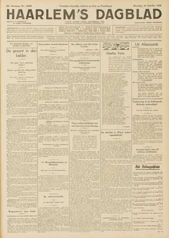 Haarlem's Dagblad 1935-10-14