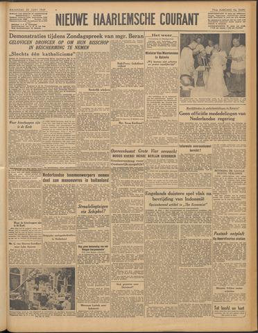Nieuwe Haarlemsche Courant 1949-06-20