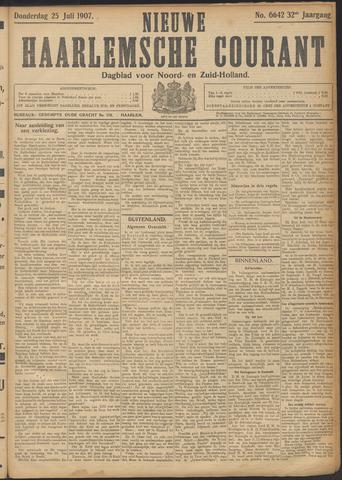Nieuwe Haarlemsche Courant 1907-07-25