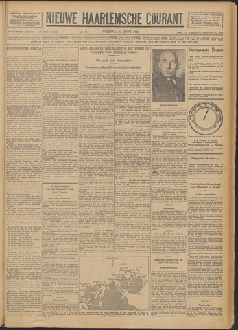 Nieuwe Haarlemsche Courant 1928-06-22