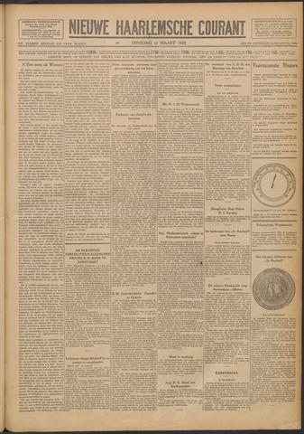 Nieuwe Haarlemsche Courant 1928-03-13