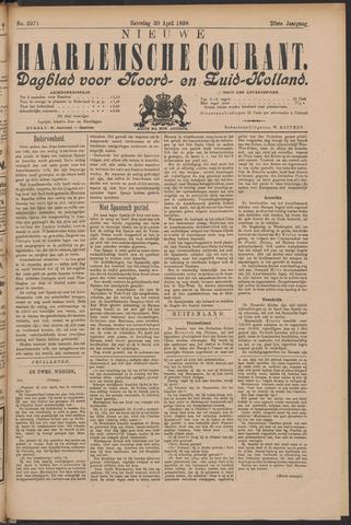 Nieuwe Haarlemsche Courant 1898-04-30