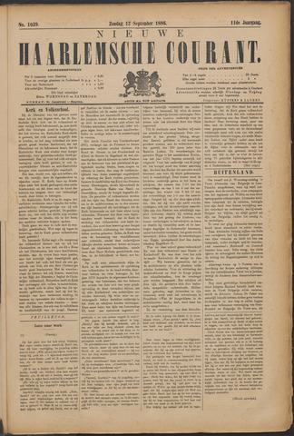 Nieuwe Haarlemsche Courant 1886-09-12