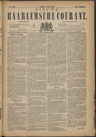 Nieuwe Haarlemsche Courant 1893-05-19