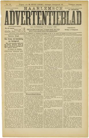 Haarlemsch Advertentieblad 1898-10-15