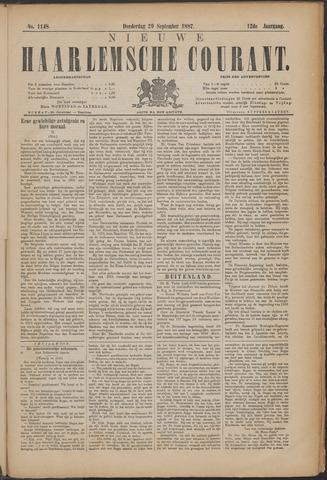 Nieuwe Haarlemsche Courant 1887-09-29