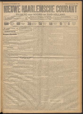 Nieuwe Haarlemsche Courant 1911-12-27