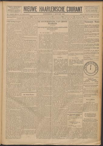 Nieuwe Haarlemsche Courant 1928-01-05