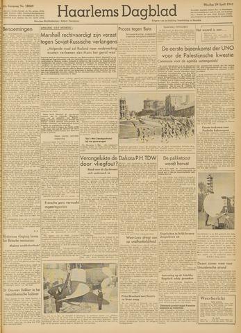 Haarlem's Dagblad 1947-04-29