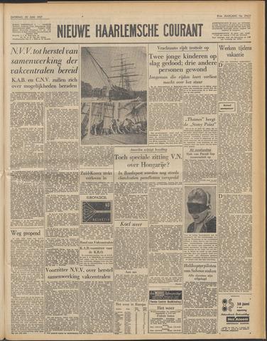 Nieuwe Haarlemsche Courant 1957-06-22