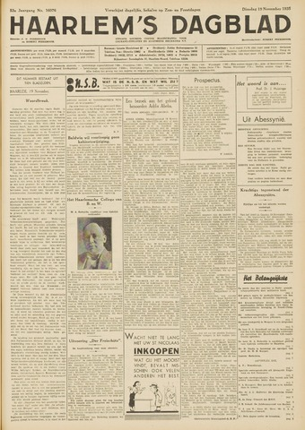 Haarlem's Dagblad 1935-11-19