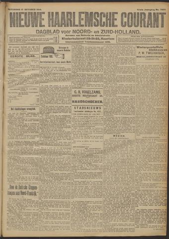 Nieuwe Haarlemsche Courant 1914-10-17