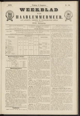 Weekblad van Haarlemmermeer 1870-08-05