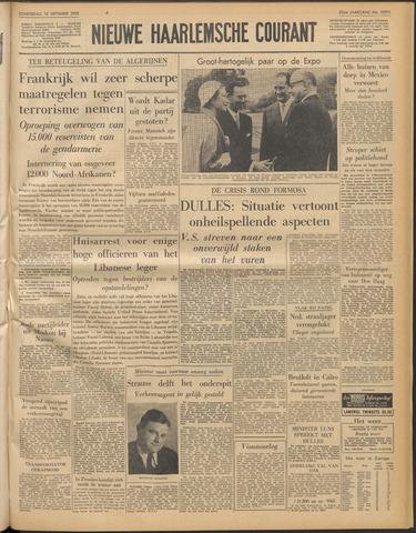 Nieuwe Haarlemsche Courant 1958-09-18