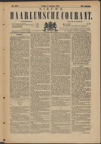 Nieuwe Haarlemsche Courant 1894-11-09
