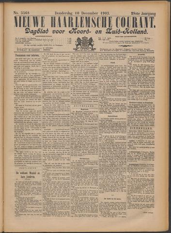 Nieuwe Haarlemsche Courant 1903-12-10