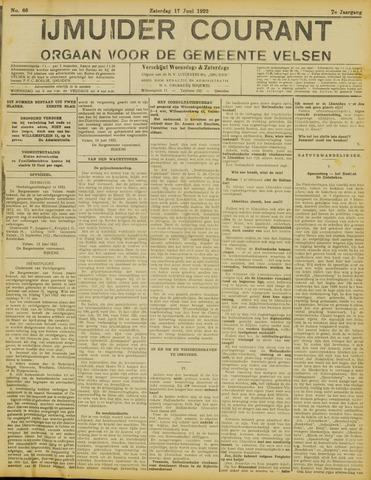 IJmuider Courant 1922-06-17
