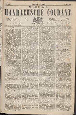 Nieuwe Haarlemsche Courant 1881-04-24
