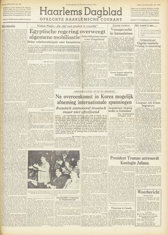 Haarlem's Dagblad 1951-10-18