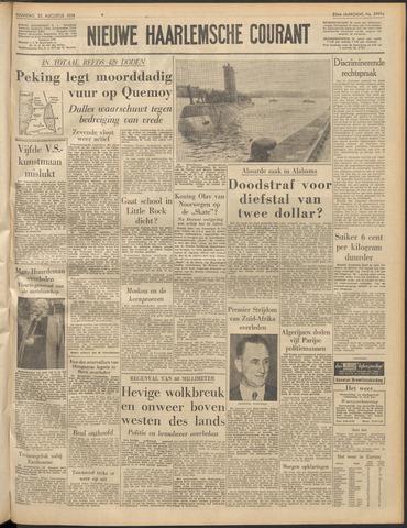 Nieuwe Haarlemsche Courant 1958-08-25